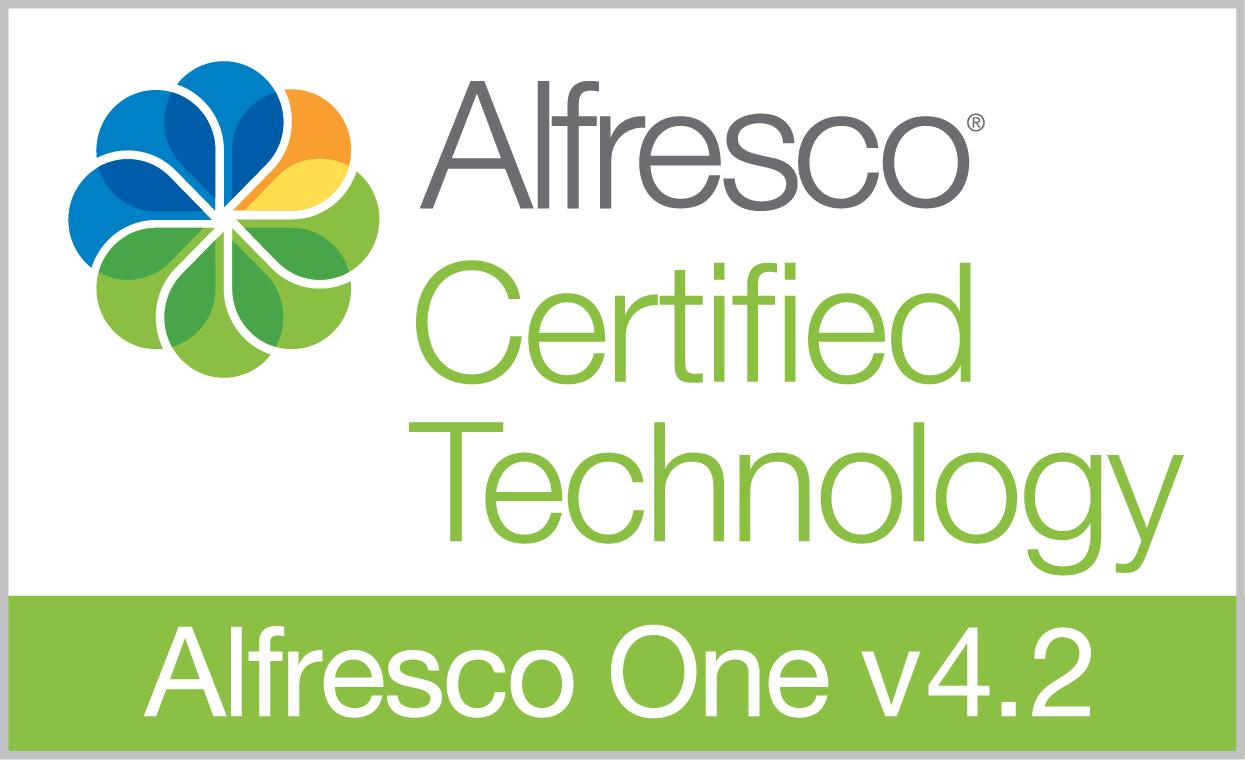 Alfresco Certified Software