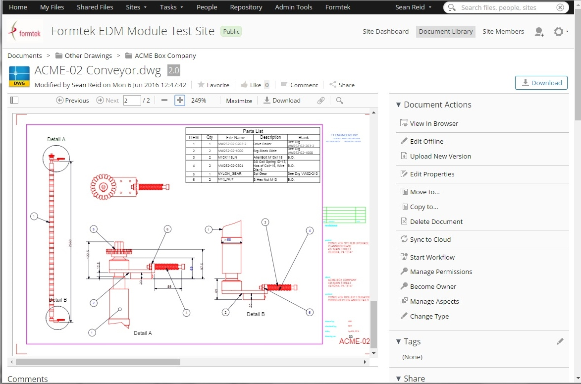 The EDM Module allows users to view drawing without AutoCAD