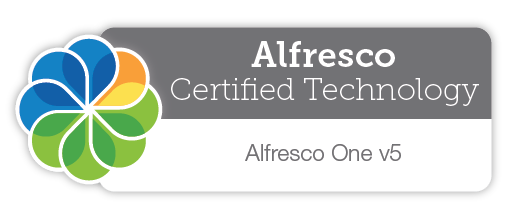 Alfresco Certified Software